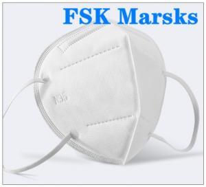Best FFP2 FFP3 N95 Respirator Mask Four Layer Non Woven Disposable Mask Non Irritating wholesale