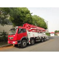 Best RHD 37m 8x4 FAW 380HP Concrete Pump Trucks with LNG engine wholesale