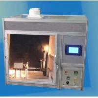 China ISO15025 Protective Clothing Flammability Tester With Copper Materail on sale