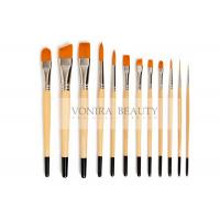 Best Nylon Body Paint Brushes For Acrylic Oil & Watercolor Student Artist Brushes For Beginners & Fine Art Painters wholesale