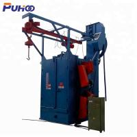 China Customizable Hook Type Shot Blasting Machine Low Noise Electric Fuel Steel Structural on sale