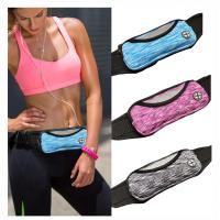 Buy cheap Colorful Spandex Jogging Waist Bag Wholesales Nylon Polyester Running Bag for from wholesalers