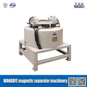 Best Multi Magnetic Pole Dried Powder Electromagnetic Separator With 30000 Gauss Dry Magnetic Separator wholesale