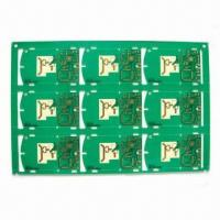 Cheap High Frequency Double-sided PCB, Made of Rogers for sale