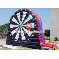 Best Interactive Party Games With 0.55mm PVC , Giant Inflatable Dart Board wholesale