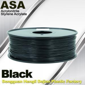 Best Anti Ultraviolet ASA UV 3D Printer Filament 1.75 / 3.0mm 3d Printing Filament wholesale