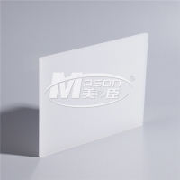 Best Luminous Iridescen Colorful Matt Frosted Sign Cast Acrylic PMMA Sheet For Led Light wholesale