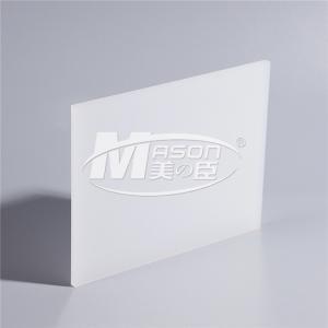 Best Transparent Opal White Color Acrylic Sheet 4x8 Feet wholesale