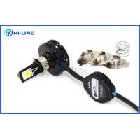Buy cheap High Lumen 18w / 24w Led Headlight Bulb For Motorcycles , Led H4 Bulb Motorcycle from wholesalers