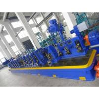 Cheap High Precision Q195 / Q235 Straight Seam Welded Tube Mill Line ZG165 for sale