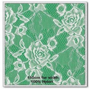 Best 100% nylon white flora knitting fabric wholesale