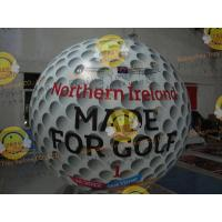 Best Customized Helium Inflatable Golf Ball Round 2.5m Reusable ASTM wholesale