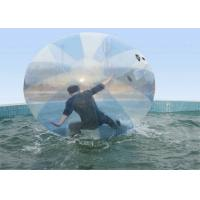 Quality Big Transparent PVC Inflatable Water Walking Ball For Playing Center , Lake wholesale
