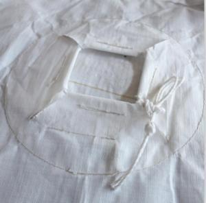 Cheap 1 Tonne Circular FIBC Big Bag Sack With Stevedore Straps 100% Virgin Polypropylene for sale