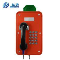 Best Tunnels Outdoor Weatherproof Telephones / Industrial Analog Telephone With LCD Display wholesale