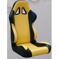 Best Comfortable Black And Yellow Racing Seats , Custom Racing Seats For Cars wholesale