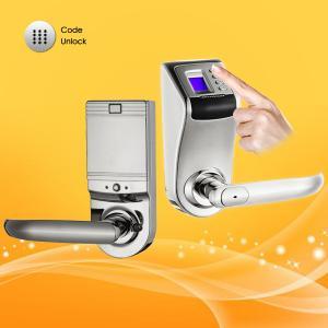 Best Hidden Keyhole Remote Control Password Door Lock  with Low Voltage Warning wholesale