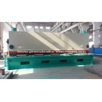Best Motorized Hydraulic Guillotine Shear , Hydraulic Sheet Metal Shear wholesale