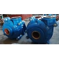 Best Heavy Duty Metal Lined Heavy Duty Slurry Pump with Metal Expeller Seal Packed wholesale