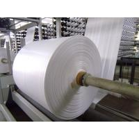 Best Fireproof PP Polypropylene Banner Material , Woven Pp Fabric For Latex Or UV Printing wholesale