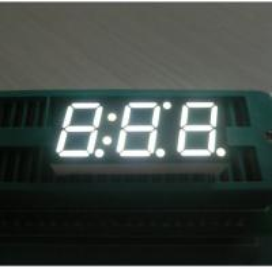 China Triple - Digit 10mm Large 7 Segment Led Black Face Seven Segment Display on sale