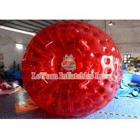 Best Outdoor Activities 3m 0.8mm PVC Adult Inflatable Zorb Ball With High - Strength PVC Tarpaulin wholesale
