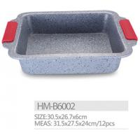 Cheap Carbon steel High strength non stick marble coating bread pan cookware bakeware for sale