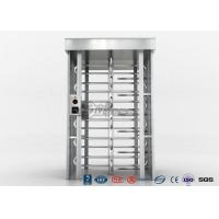 Cheap Indoor Or Outdoor Pedestrian Turnstile Security Systems Semi - Auto Mechanism Housing for sale