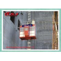 Quality High Speed 0-96 m/Min Passenger Material Construction Site Lift With VFC Control wholesale