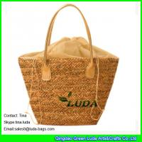 Best LUDA linen shopping bag wholesale summer fashion 2015 straw bags wholesale