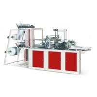 Best Four Lines Plastic Poly Bag Making Machine Cold Cutting For Flat Opening Bags wholesale
