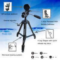 Cheap VCT-668 Pro Tripod with Damping Head Fluid Pan for SLR/DSLR Canon Nikon for sale