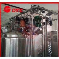 Best Automatic Stainless Steel Cip Washing System , Beverage Machinery Gas Heating wholesale