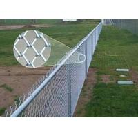 Best Standard Metal galvanised chain link fencing 1.2M X 50M 2.5mm Thickness wholesale
