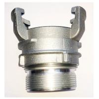 Best EN 14420-8 Aluminum Gravity Casting  with female thread and lock ring wholesale