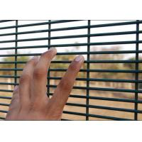 Best PVC Coated Surface 358 Security Mesh Panels 2.1 X 2.4 Meter For Prison Fence wholesale