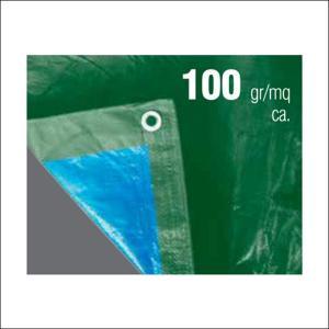 Best Green / Blue heavy duty waterproof canvas fabric PE Tarpaulin 100 Gram wholesale