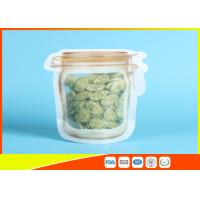 Best Household Reusable Stand Up Ziplock Bags Food Can Shaped Plastic Packaging Bag / Mason Jar wholesale