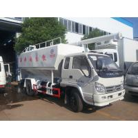 Best best price forland LHD 4*2 8cbm bulk feed discharging truck for sale, 3-4tons livestock and poultry feed pellet truck wholesale