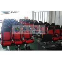 Best Movie Motion Theater Chair With Pnuematic Control System For Indoor wholesale