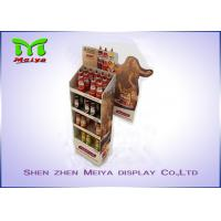 Best Easy-assembling cardboard floor display stands , cardboard store display wholesale