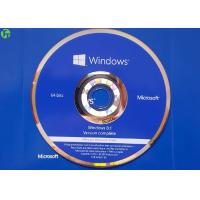 Quality Microsoft OEM Product DVD Disk , Windows 8.1 Pro English Version With COA License wholesale