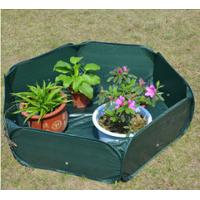 Best Pop Up Raised Garden Plant Accessories Bed120gsm PE, 210D oxford PVC coated, 1.2x4mm steelwire rods  121x121x30cm wholesale