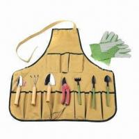 Best Garden Tool Set with Apron, Customized Logos and Colors are Welcome wholesale