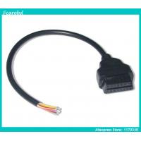 Buy cheap Fcarobd open end 16 pin obd2 cable 16pin female to open end obdii adapter female from wholesalers