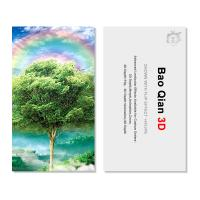 Best Customized Logo 3D Lenticular Card / Shaped Stand Holographic Business Cards wholesale