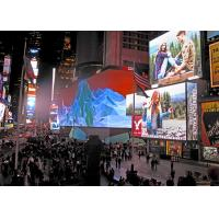Best P10 Outdoor 90 Degree Angled Front Maintenance Commercial Advertising LED Display wholesale