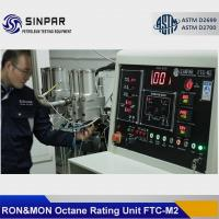 China RON/MON Method octane test engine SINPAR FTC-M1/M2 on sale
