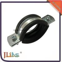 Best M8 Nut Pipe Clamp Fittings Metal Pipe Hangers 3 Inch Ventilation Pipe Clamp wholesale