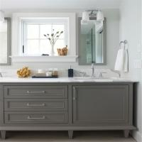 Best Customized Bathroom Prima Vanity Furniture Modern Design With Double Sink wholesale